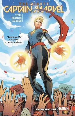 bokomslag The Mighty Captain Marvel Vol. 1: Alien Nation