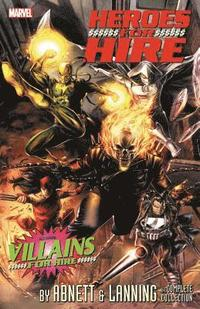 bokomslag Heroes For Hire By Abnett &; Lanning: The Complete Collection