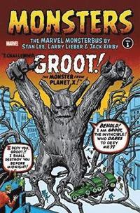 bokomslag Monsters Vol. 1: The Marvel Monsterbus By Stan Lee, Larry Lieber, &; Jack Kirby