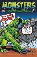 bokomslag Monsters Vol. 2: The Marvel Monsterbus By Stan Lee, Larry Lieber &; Jack Kirby