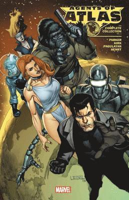 Agents Of Atlas: The Complete Collection Vol. 1 1