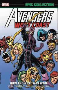 bokomslag Avengers West Coast Epic Collection: How The West Was Won