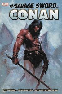 bokomslag Savage Sword Of Conan: The Original Marvel Years Omnibus Vol. 1