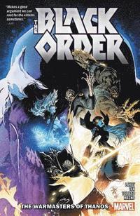 bokomslag Black Order: The Warmasters Of Thanos