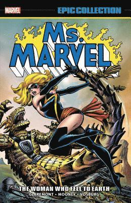 bokomslag Ms. Marvel Epic Collection: The Woman Who Fell To Earth