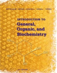 bokomslag Student Solutions Manual for Bettelheim/Brown/Campbell/Farrell/Torres'  Introduction to General, Organic and Biochemistry, 11th