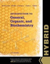 bokomslag Introduction to General, Organic and Biochemistry, Hybrid Edition (with OWLv2 with MindTap Reader, 4 terms (24 months) Printed Access Card)