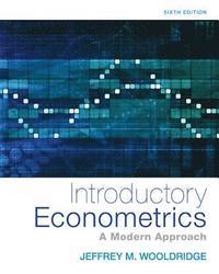 bokomslag Introductory Econometrics: A Modern Approach