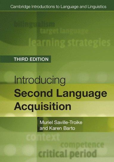 bokomslag Cambridge Introductions to Language and Linguistics: Introducing Second Language Acquisition