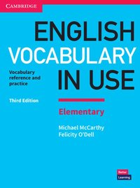 bokomslag English Vocabulary in Use Elementary Book with Answers