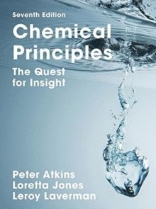 bokomslag Chemical principles - the quest for insight