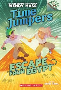 bokomslag Escape From Egypt: A Branches Book (Time Jumpers #2)
