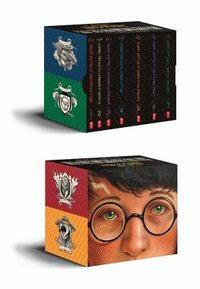 bokomslag Harry Potter Books 1-7 Special Edition Boxed Set