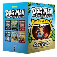 bokomslag Dog Man 1-6: The Supa Epic Collection: From the Creator of Captain Underpants