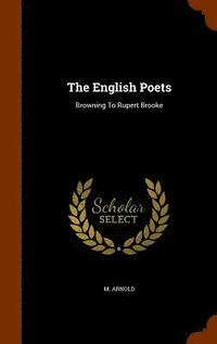 bokomslag The English Poets
