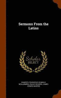 bokomslag Sermons from the Latins