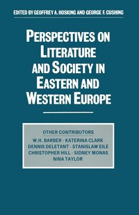 bokomslag Perspectives on Literature and Society in Eastern and Western Europe