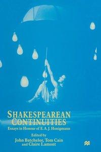 bokomslag Shakespearean Continuities