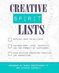 bokomslag Creative Spirit Lists