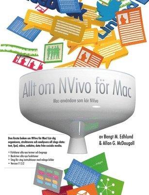 bokomslag Allt Om Nvivo for Mac