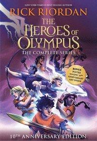 bokomslag Heroes Of Olympus Paperback Boxed Set 10