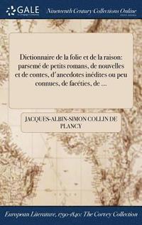 bokomslag Dictionnaire de la Folie Et de la Raison