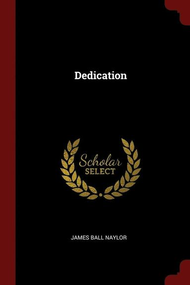 bokomslag Dedication