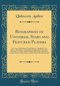 bokomslag Biographies of Universal Stars and Featured Players