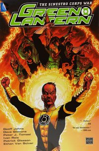 bokomslag Green Lantern The Sinestro Corps War
