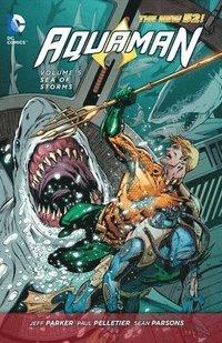 bokomslag Aquaman Vol. 5: Sea of Storms (The New 52)