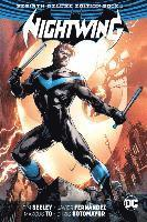 bokomslag Nightwing the rebirth deluxe edition book 1 (rebirth)