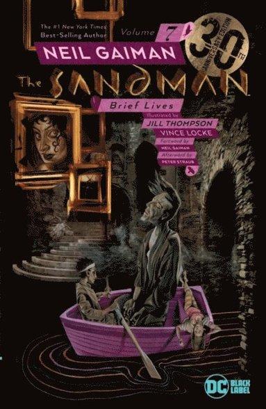 bokomslag Sandman Vol. 7: Brief Lives 30th Anniversary Edition