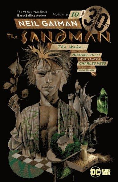 bokomslag Sandman Vol. 10: The Wake 30th Anniversary Edition
