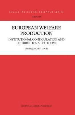 bokomslag European Welfare Production
