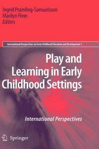 bokomslag Play and Learning in Early Childhood Settings