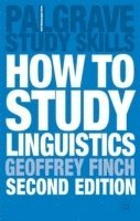 bokomslag How to Study Linguistics