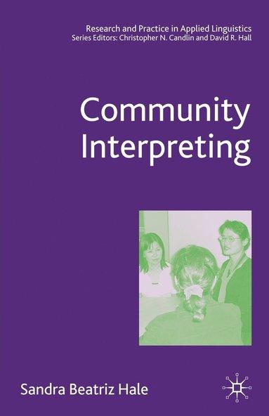 bokomslag Community Interpreting