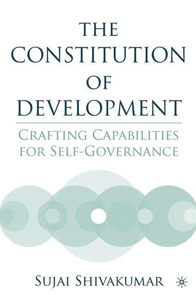 bokomslag The Constitution of Development