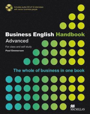 bokomslag Business English Handbook Advanced