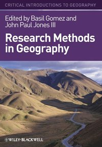 bokomslag Research Methods in Geography: A Critical Introduction