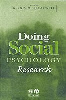 bokomslag Doing Social Psychology Research