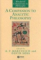 bokomslag A Companion to Analytic Philosophy