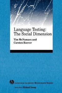 bokomslag Language Testing: The Social Dimension