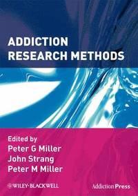 bokomslag Addiction Research Methods