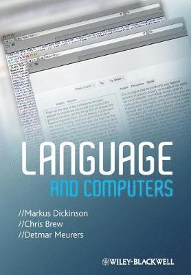 bokomslag Language and Computers