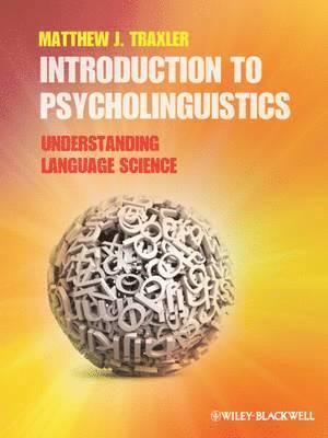 bokomslag Introduction to Psycholinguistics