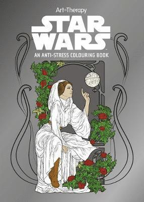 bokomslag Star wars art therapy colouring book