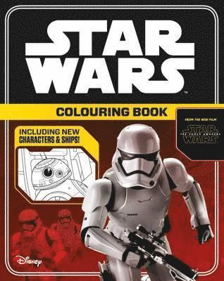bokomslag Star Wars The Force Awakens: Colouring Book