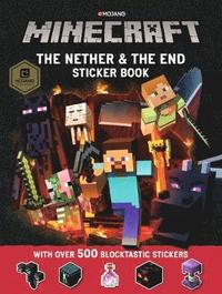 bokomslag Minecraft The Nether and the End Sticker Book