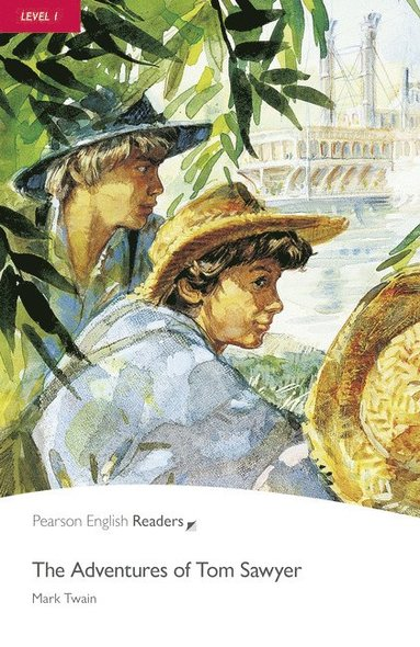 "bokomslag ""Adventures of Tom Sawyer"""